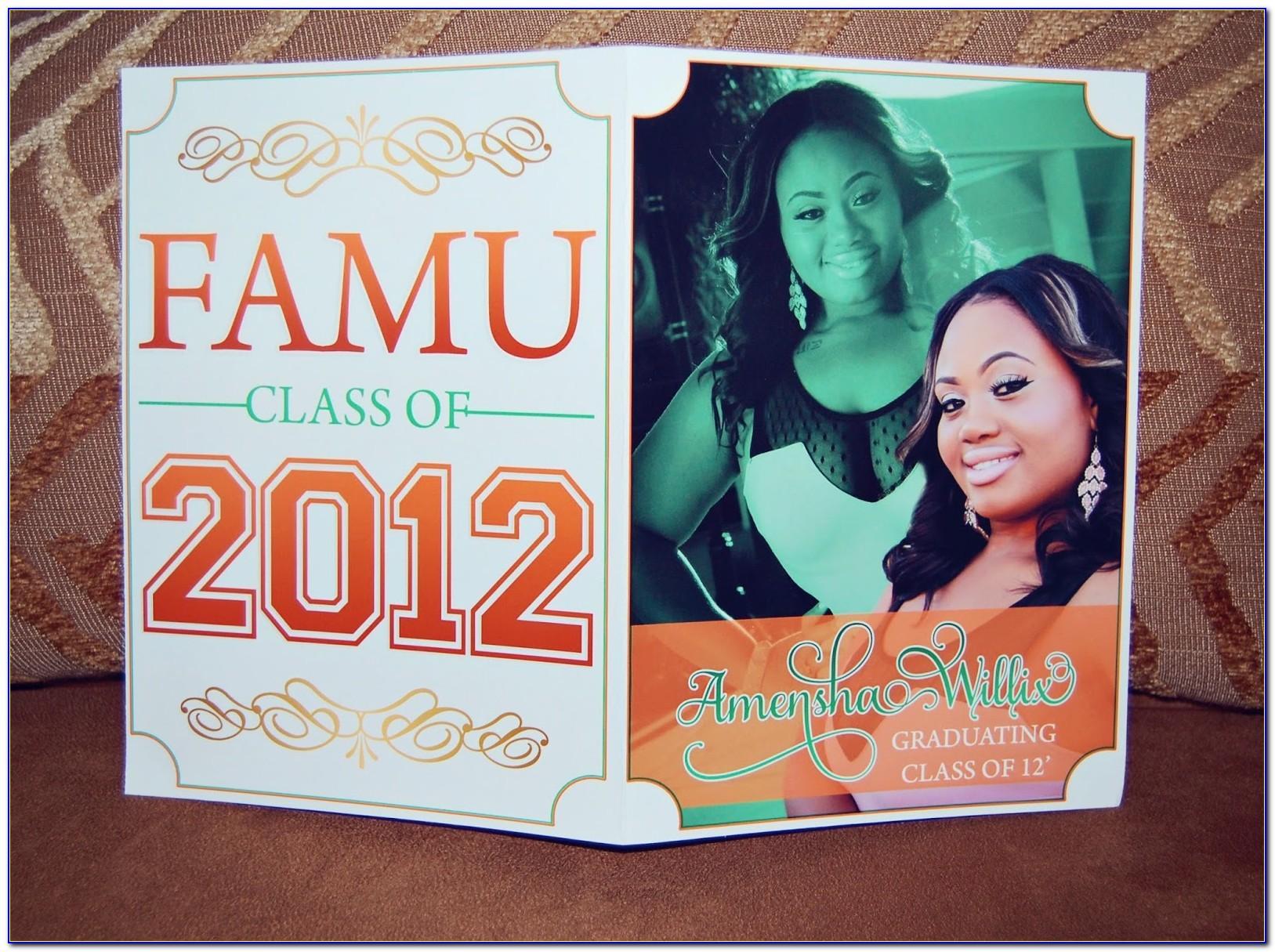 Famu Graduation Announcements