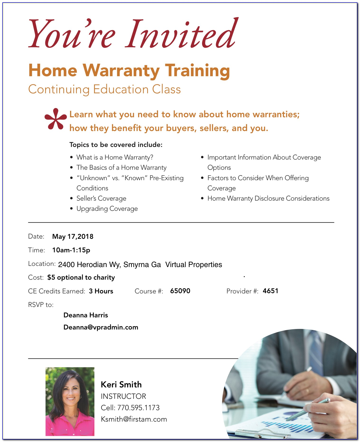 First American Home Warranty Brochure 2018 California Pdf