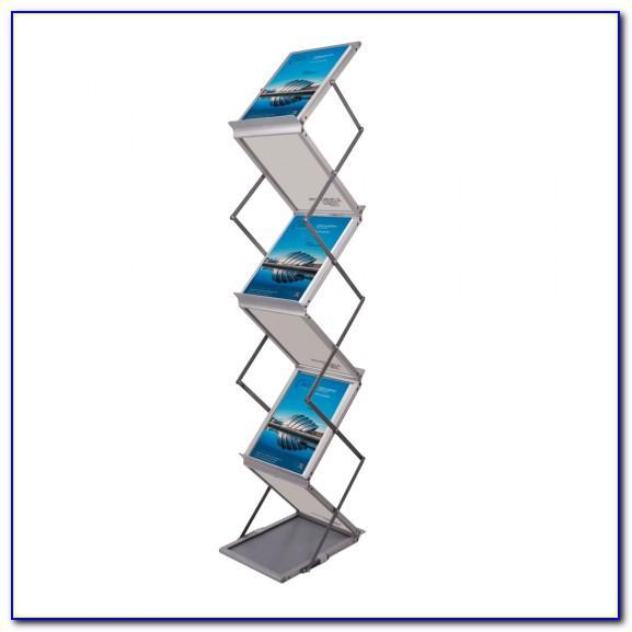 Folding Brochure Holder
