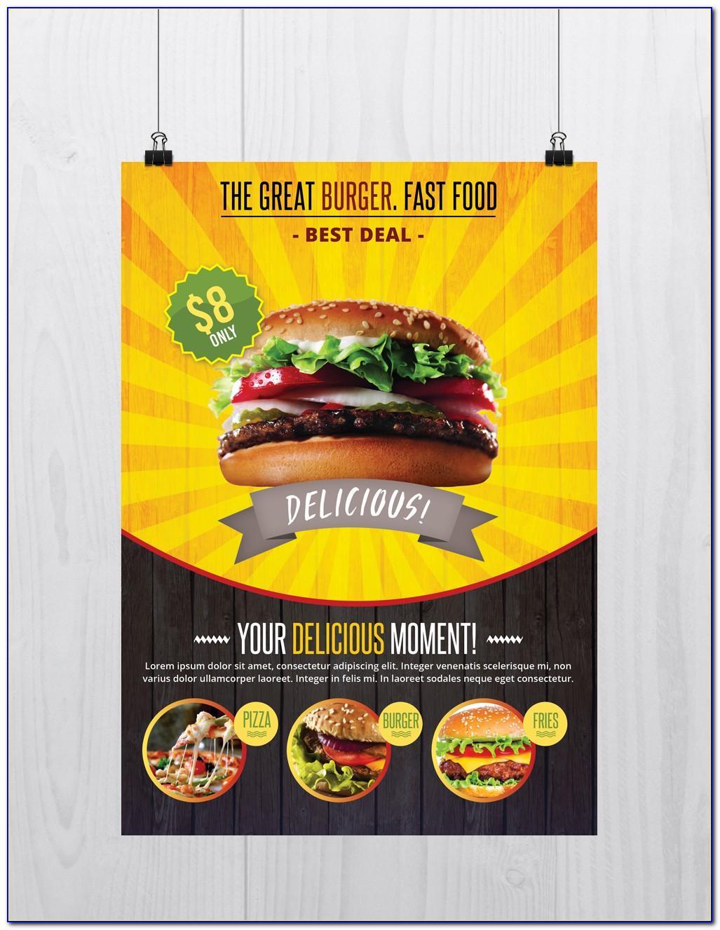 Food Brochure Template Free Download