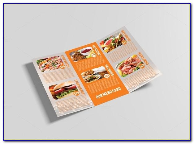 Food Brochure Templates Psd Free Download