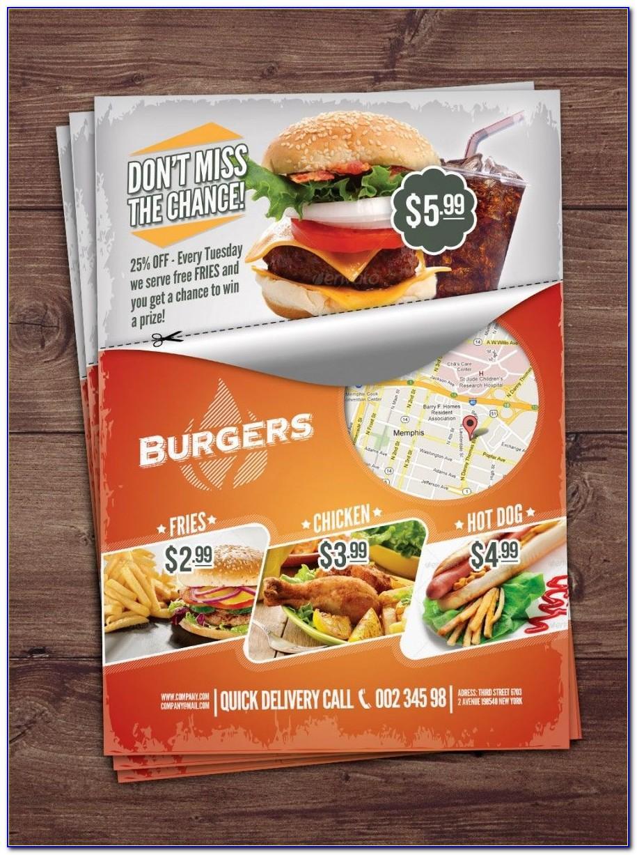 Food Brochure Templates Word