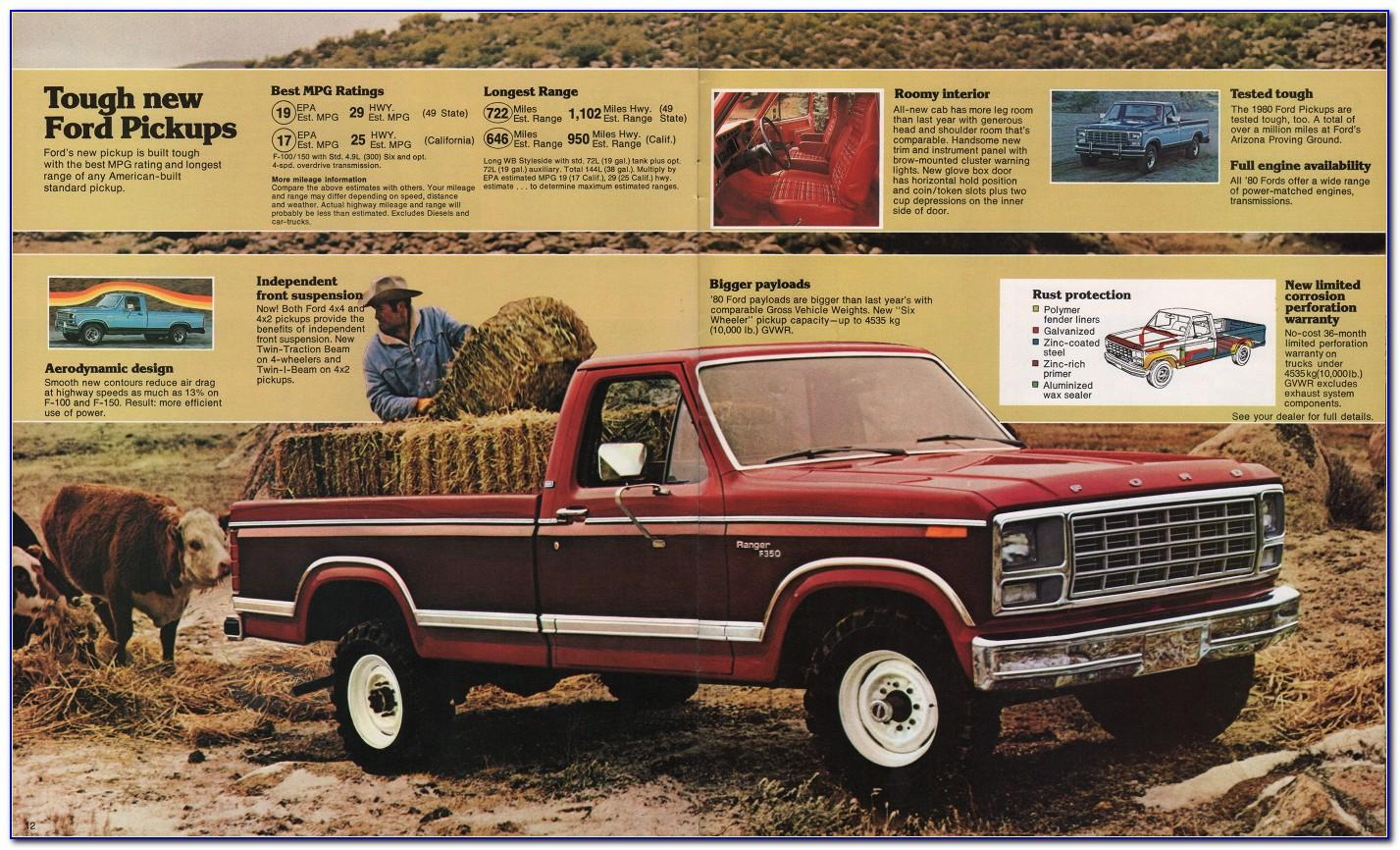 Ford Esp Premium Maintenance Plan Brochure