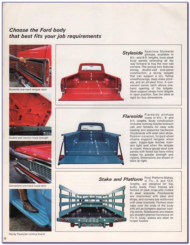 Ford Premium Care Maintenance Plan Brochure