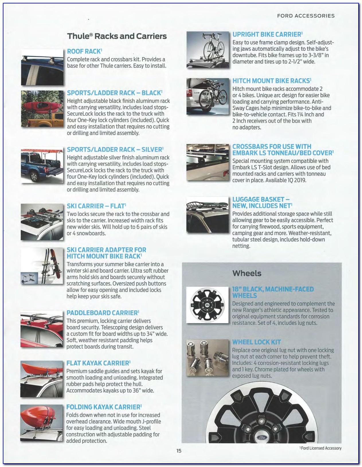 Ford Ranger Brochure Pdf