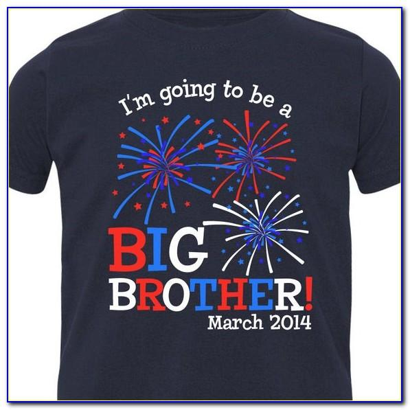 Fourth Of July Pregnancy Announcement Shirt