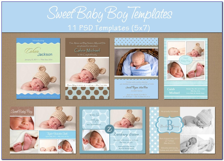 Free Birth Announcement Templates