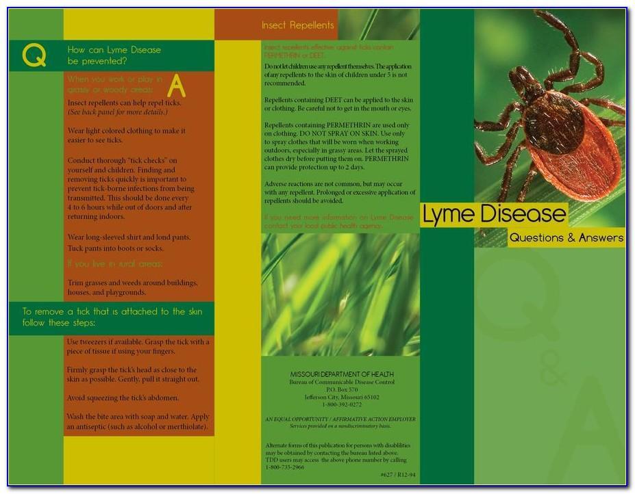 Free Lyme Disease Brochures