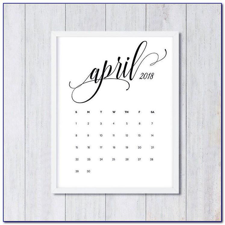 Free Pregnancy Announcement Calendar