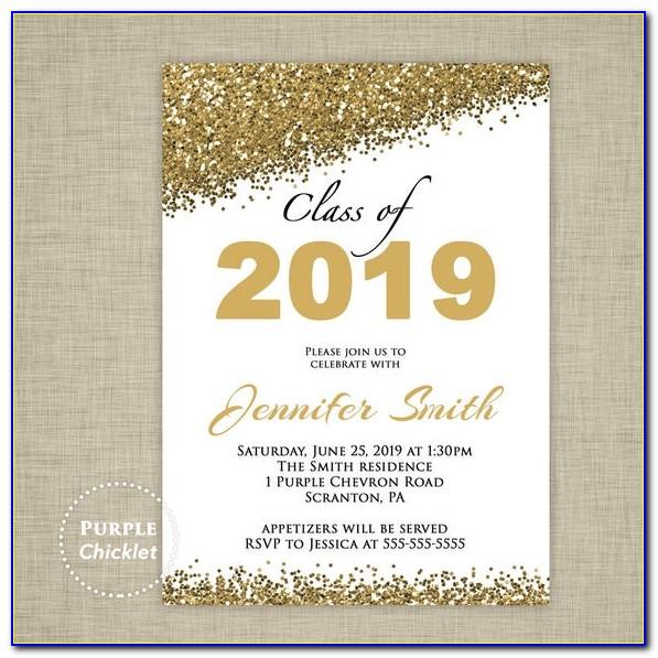 Free Printable Graduation Announcements 2019
