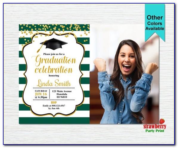 Free Printable Graduation Invitation Cards
