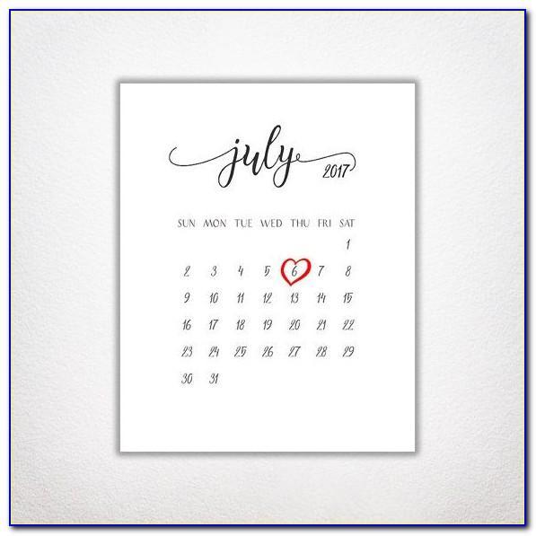 Free Printable Pregnancy Announcement Calendar 2018