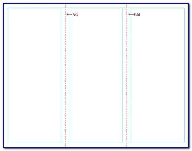 Free Templates For Tri Fold Brochures In Word