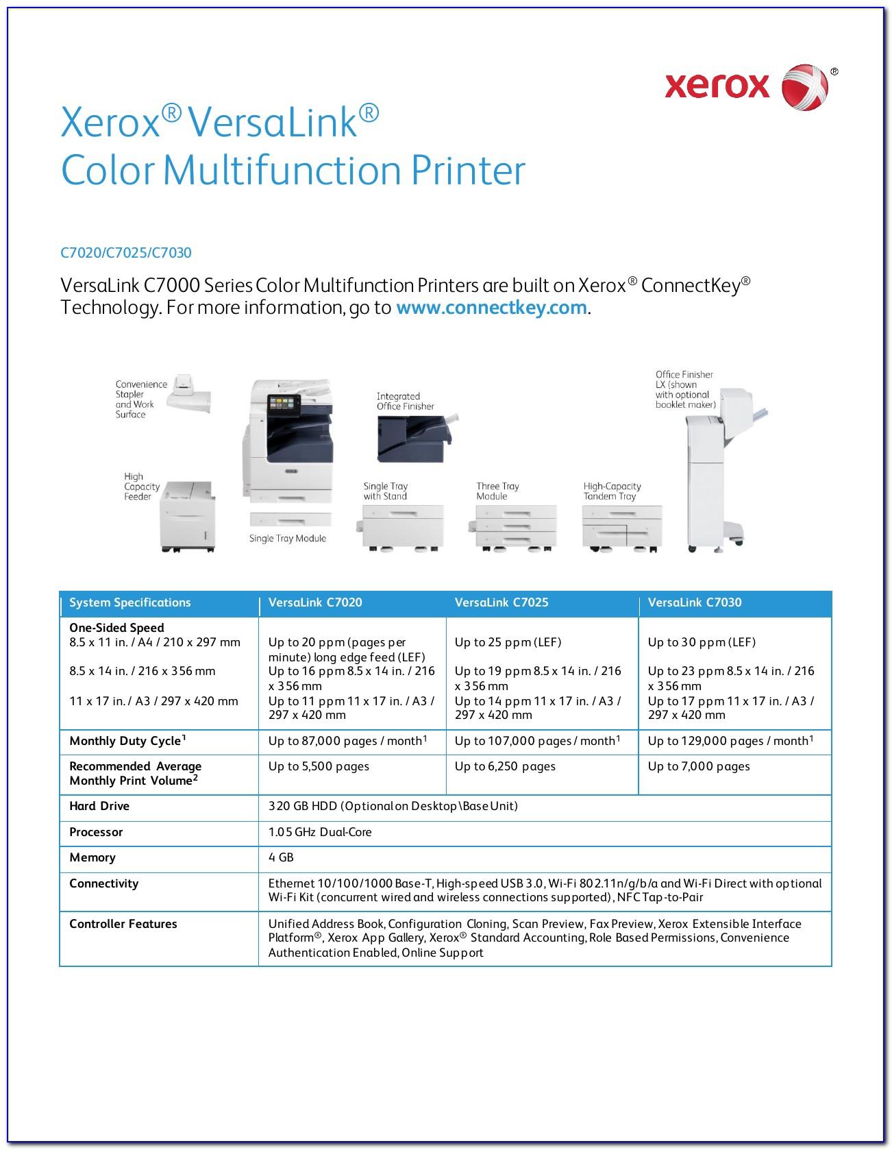 Fuji Xerox C75 Brochure