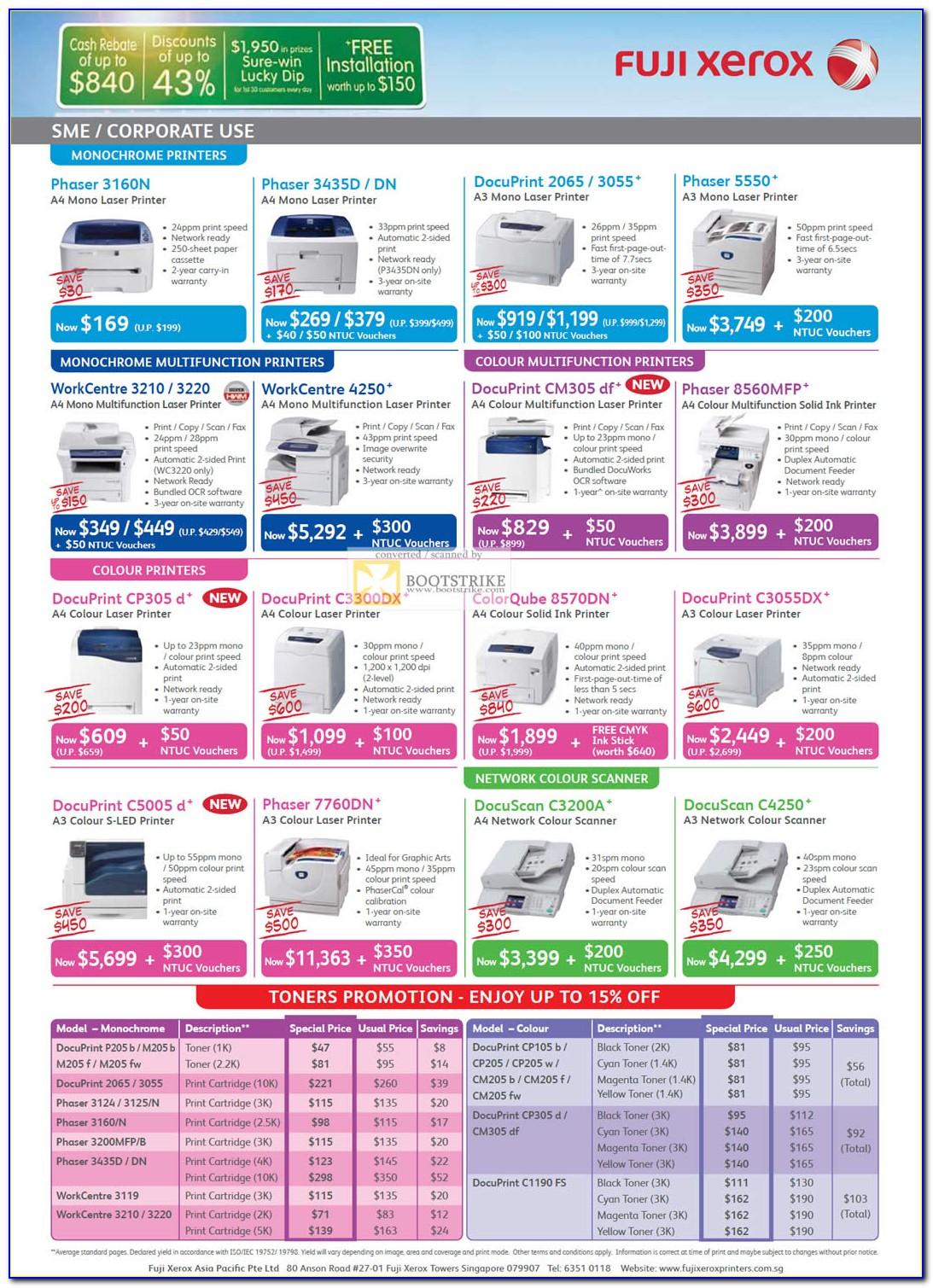 Fuji Xerox Workcentre 4250 Brochure