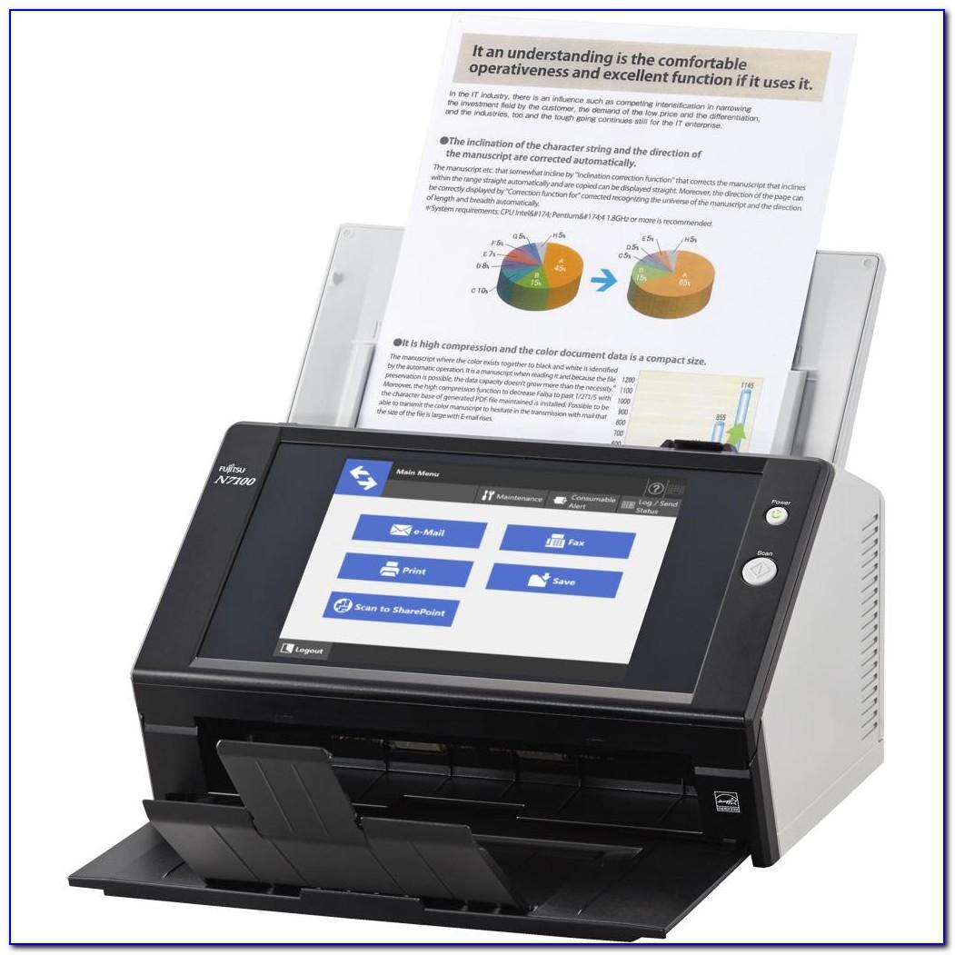 Fujitsu N7100 Scanner Brochure