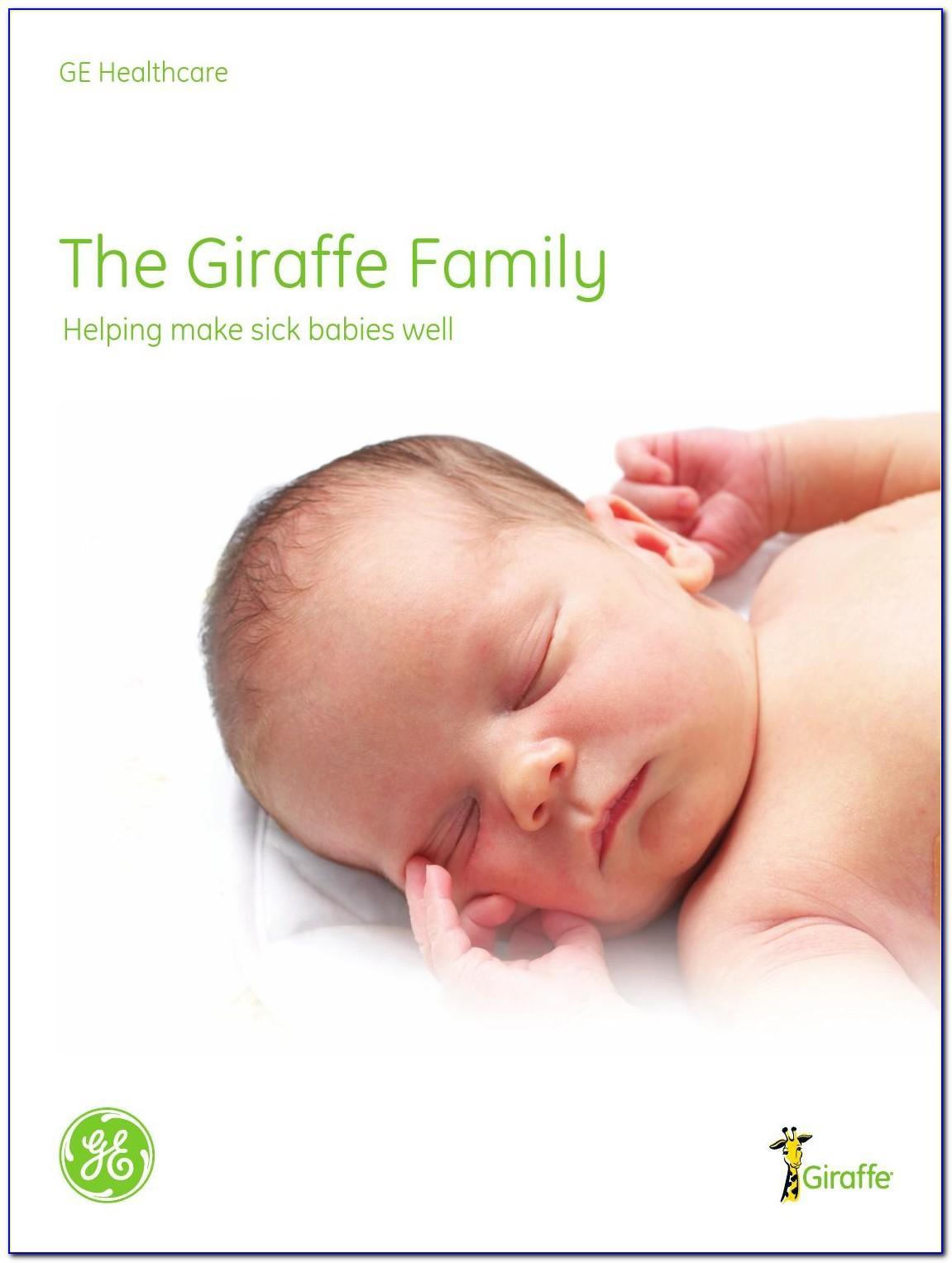 Ge Giraffe Incubator Brochure