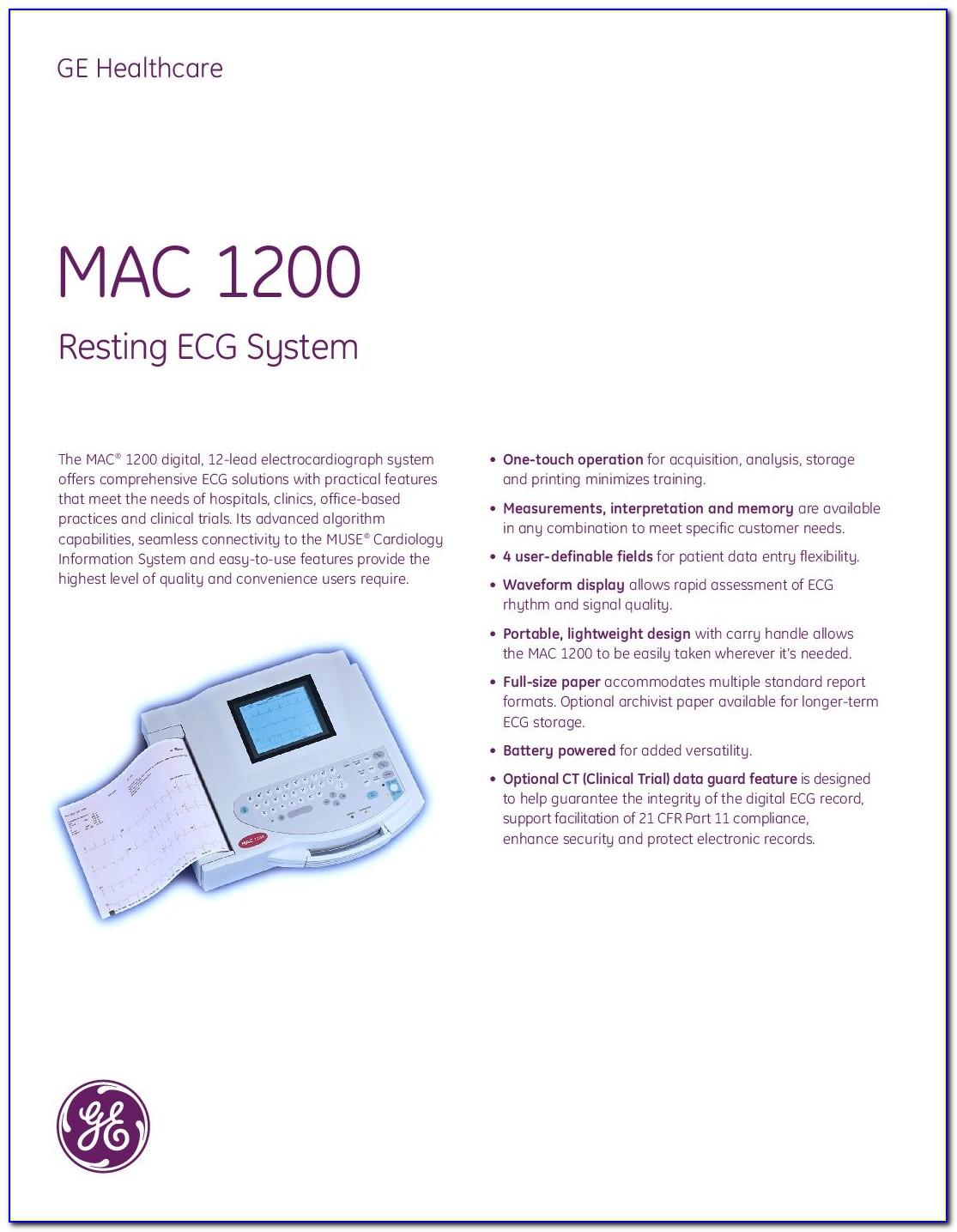 Ge Mac 1200 Brochure