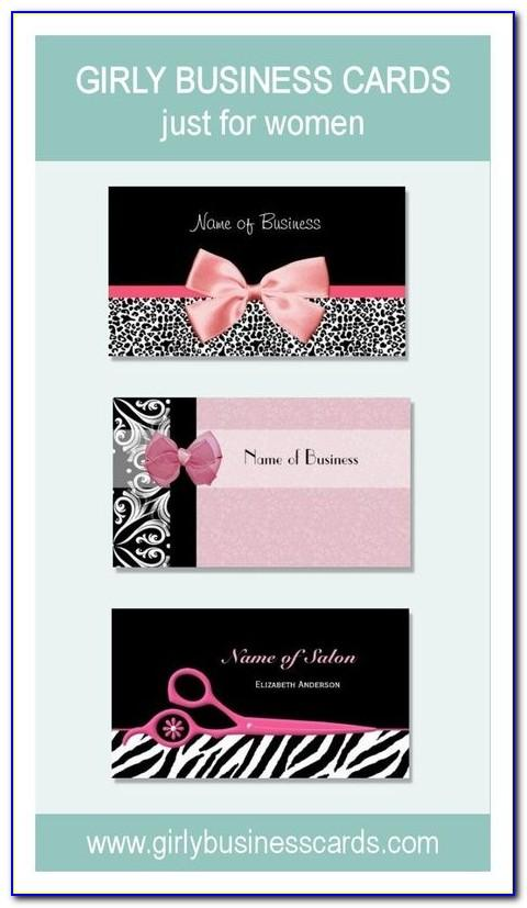 Girly Business Card Holder Purse