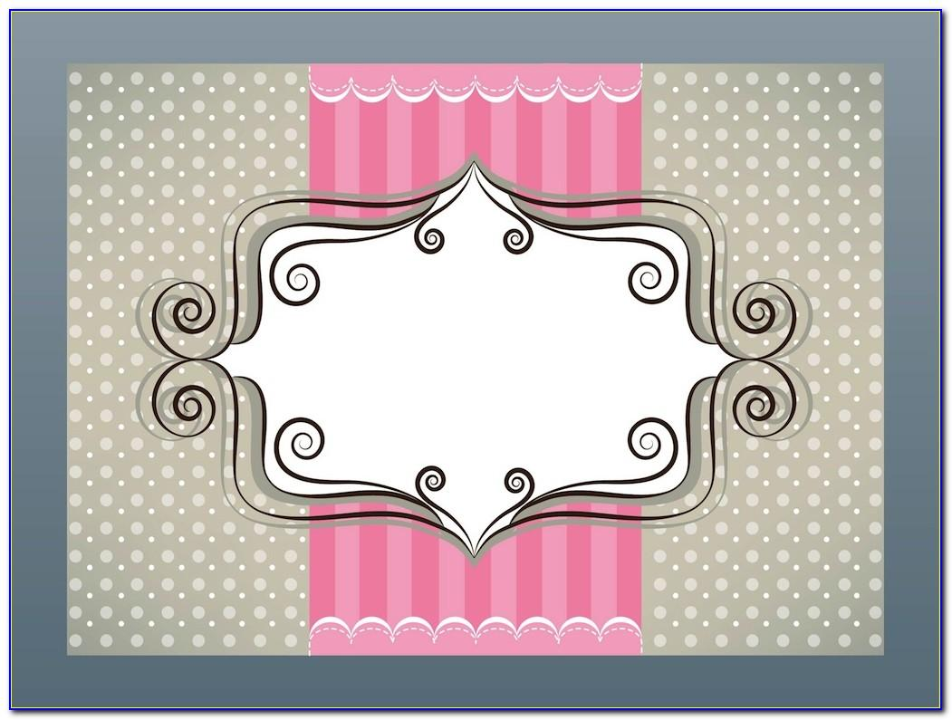 Girly Business Cards Templates Free