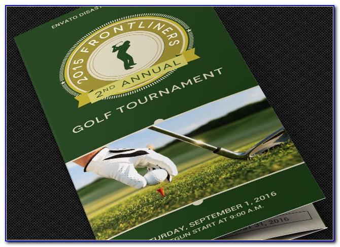 Golf Course Brochure Template