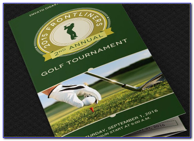 Golf Outing Flyer Powerpoint