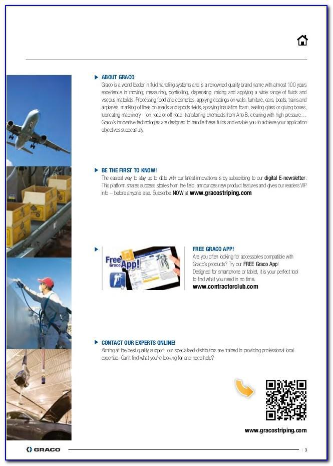 Graco Linelazer Catalog