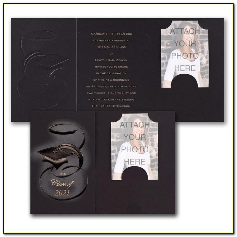 Graduation Party Invitations With Photo Insert