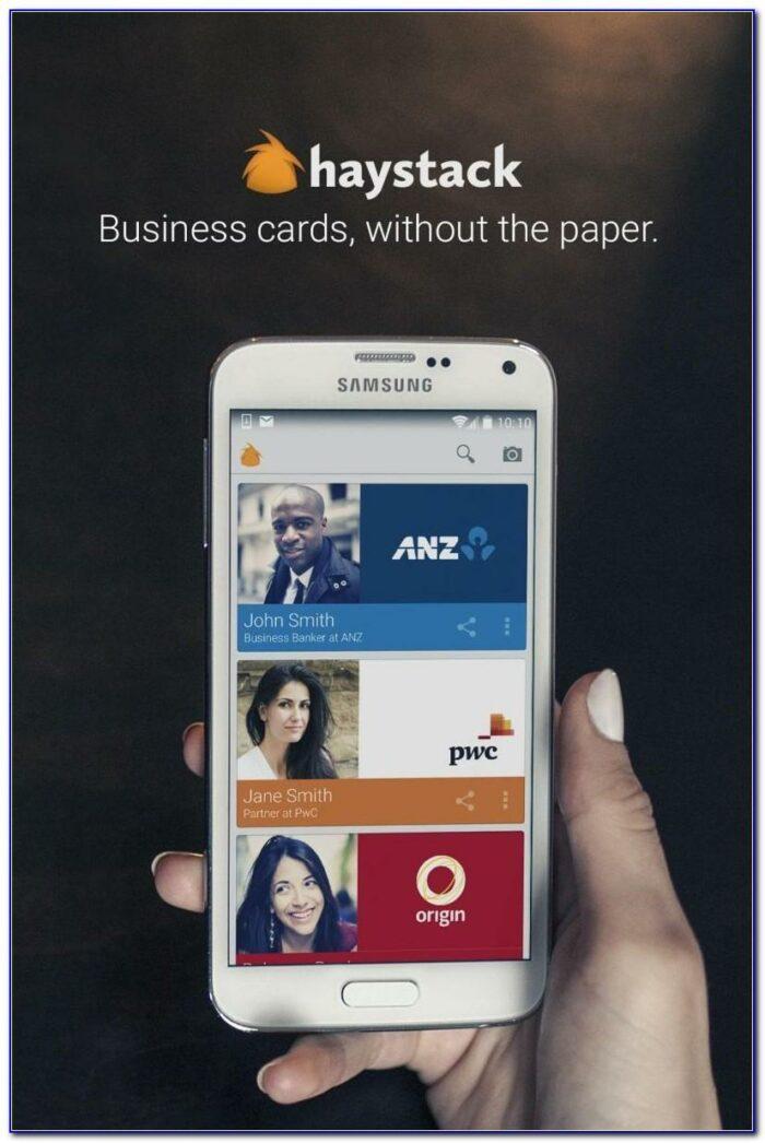 Haystack Business Card Reader