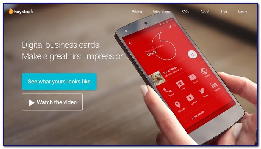 Haystack Digital Business Cards