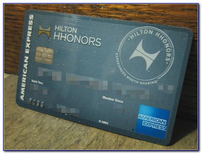 Hilton Business Card American Express
