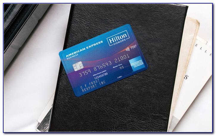 Hilton Business Credit Card