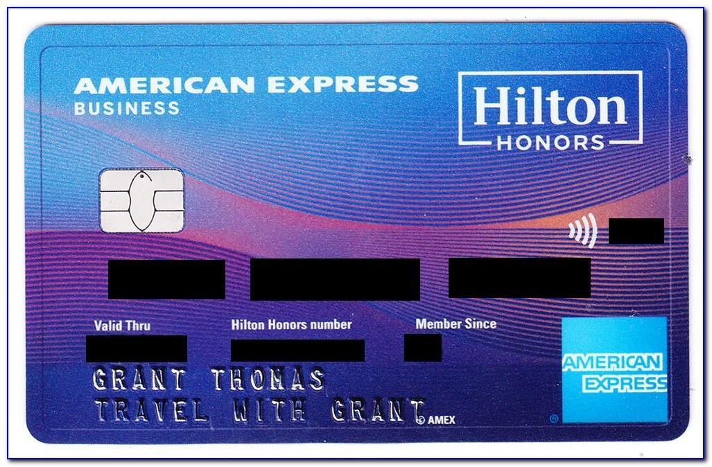 Hilton Business Gift Card