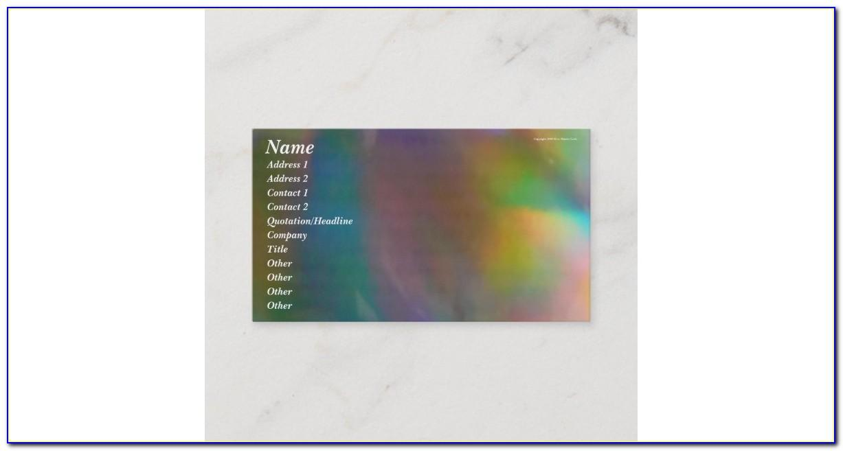 Holographic Business Cards Australia