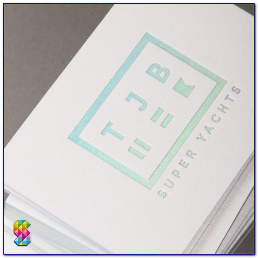 Holographic Business Cards Manufacturer
