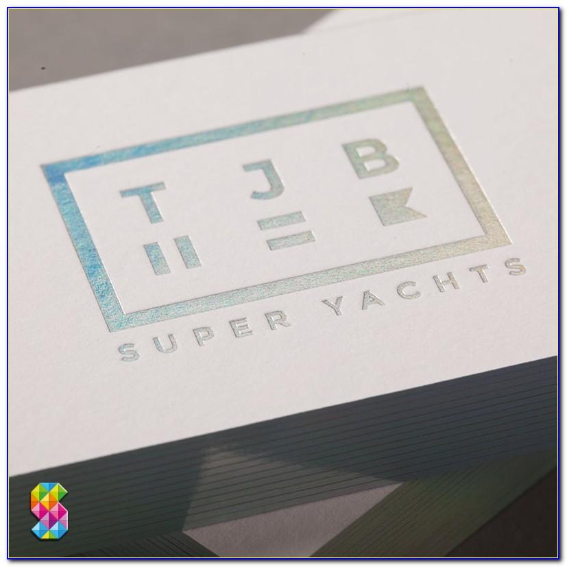 Holographic Business Cards Pvc
