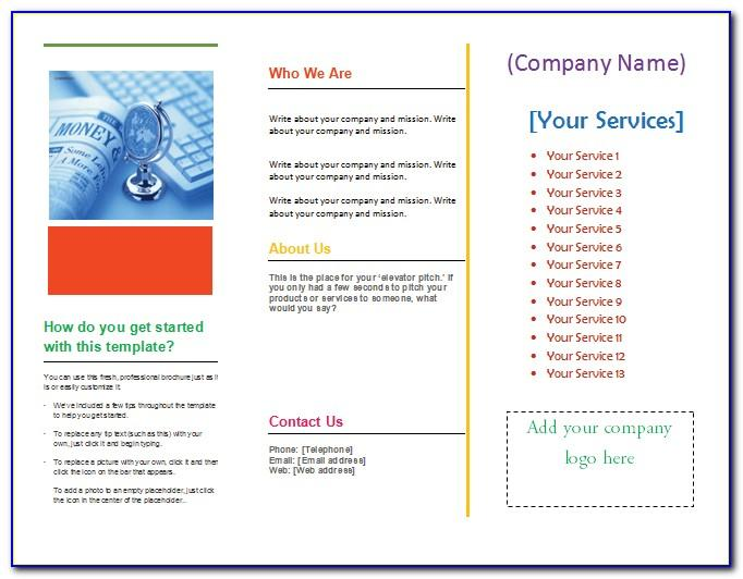 How To Make Tri Fold Brochure In Microsoft Word