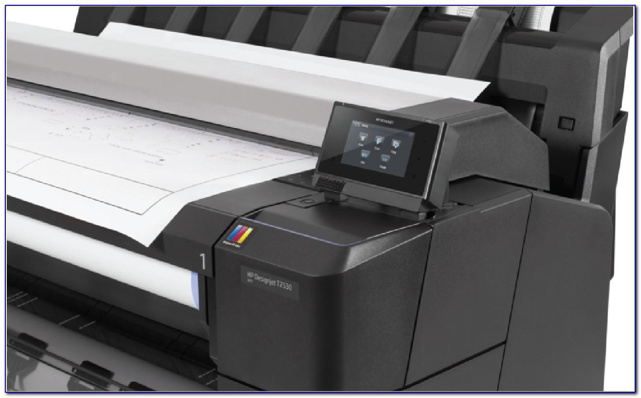 Hp Designjet T2530 Multifunction Printer Brochure