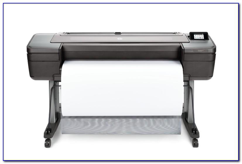 Hp Designjet Z6 24 In Postscript Printer Brochure