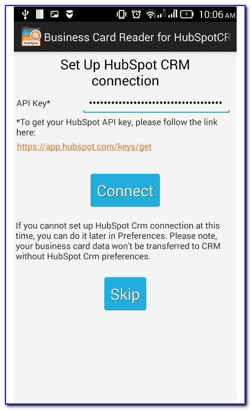 Hubspot Business Card Scanner Ios