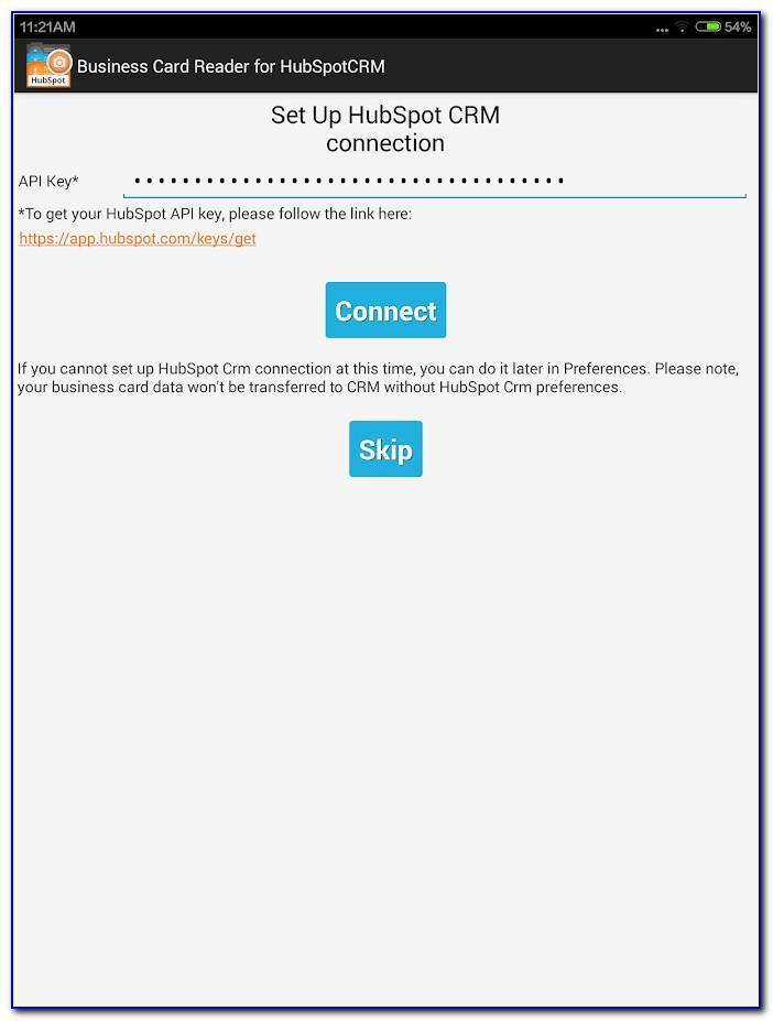Hubspot Business Card Scanner Iphone