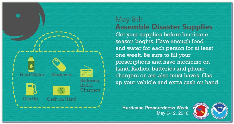 Hurricane Preparedness Plan Brochure