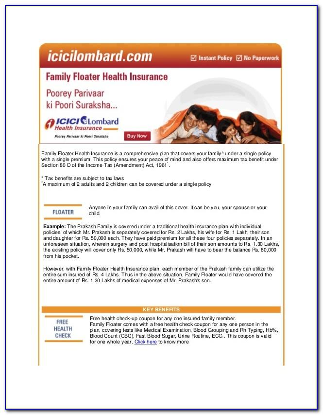 Icici Lombard International Travel Insurance Brochure