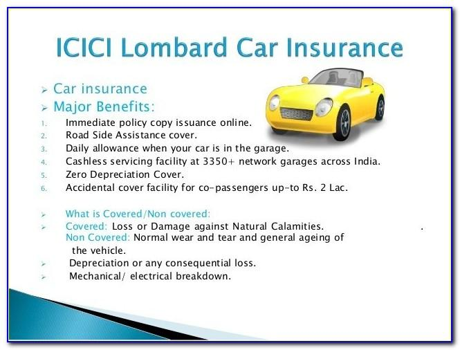 Icici Lombard Travel Insurance Brochure