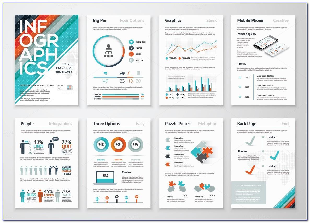 Infographic Brochure Design Templates