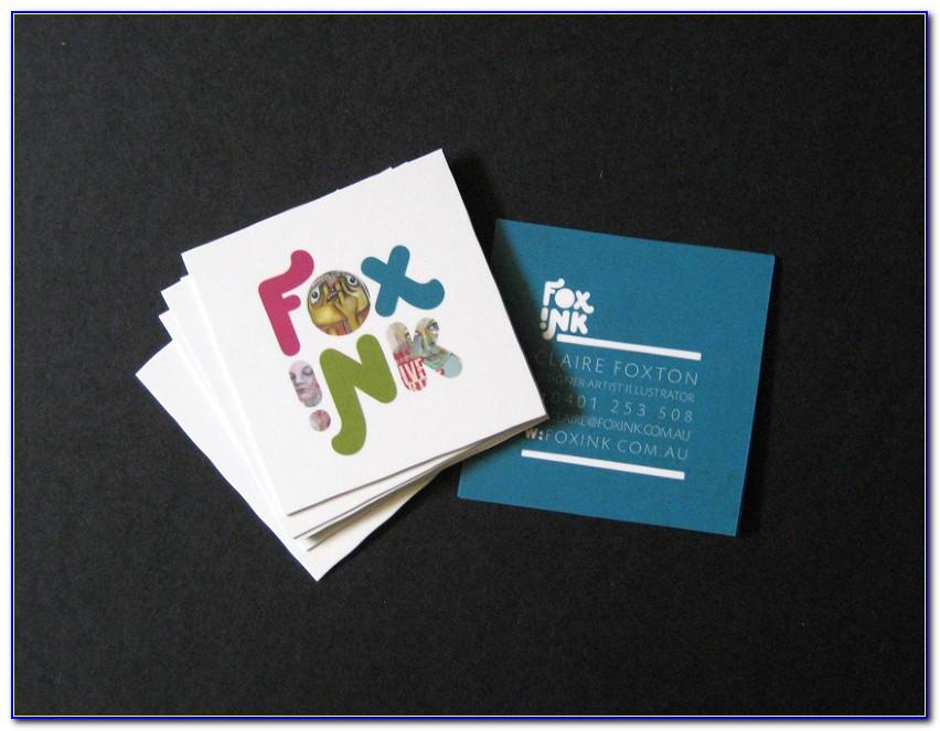 Ink Business Card Benefits