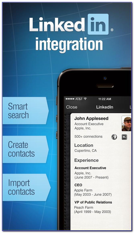Iphone App Business Card Scanner Salesforce