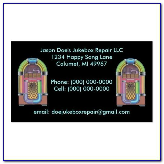 Jukebox Business Cards Review