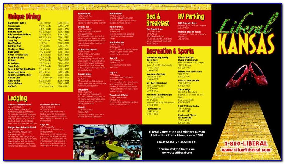 Kansas Tourism Brochures