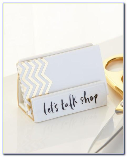 Kate Spade Desktop Business Card Holder